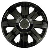 Goodyear Flexo 7550Black–Tapacubos (4Unidades) 16' Pulgadas (40,5 cm)