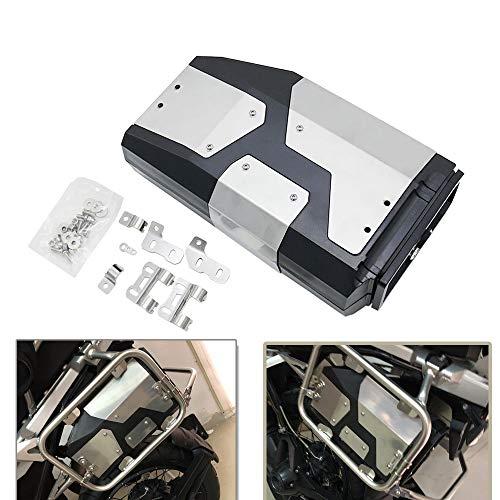 Motorcykelsida verktygslåda – SUNWAN 4,2 L motorcykel vänsterfäste verktyg förvaringsbox vattentät rostfri reparationsbehållare för BMVV R1200GS R1250GS ADV 2004–2019