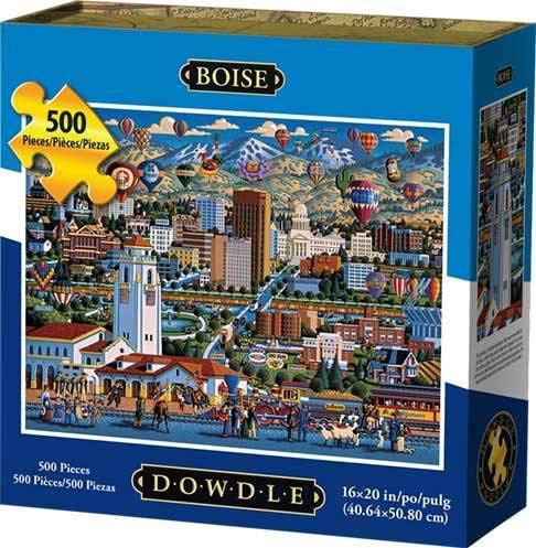 Dowdle Folk Art Sales of SALE items from new works Jigsaw Directly managed store Puzzle Pc 500 Boise -