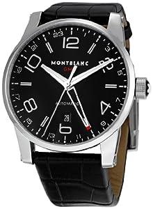 Montblanc Men's 36065 Timewalker Black Dial Watch image