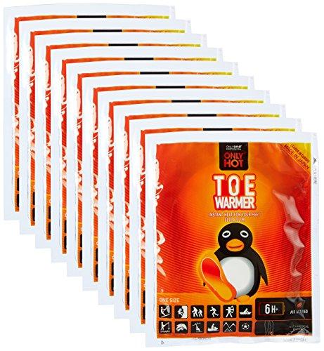 10 Paar OnlyHot Zehenwärmer Wärmepad für 6 Std. Aktivkohle