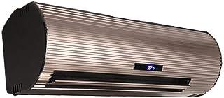 Calefacción inteligente remoto montado en la pared de control de calefactor eléctrico PTC eficiente purificación de iones negativos de aleación de aluminio de la carcasa, de protección múltiple, oro d