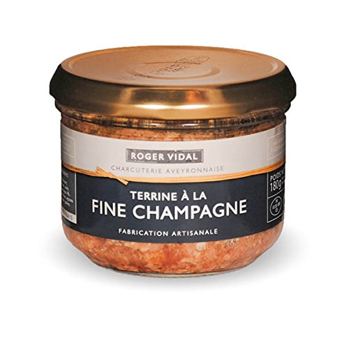 Roger Vidal - Pastete mit feinem Champagner (Terrine à la fine Champagner) 180 g