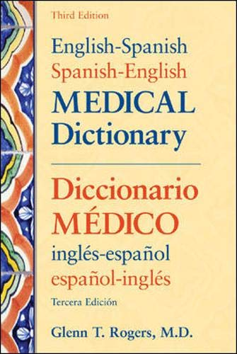 Image OfEnglish-Spanish/Spanish-English Medical Dictionary, Third Edition (English And Spanish Edition)