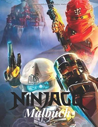 Ninjago Malbuch: Ninjago Malbuch Für Kinder & Erwachsene, Enthält Alle Charaktere Mit Hoher Qualität Niedlich Und Schöne Bilder Von Ninjago.