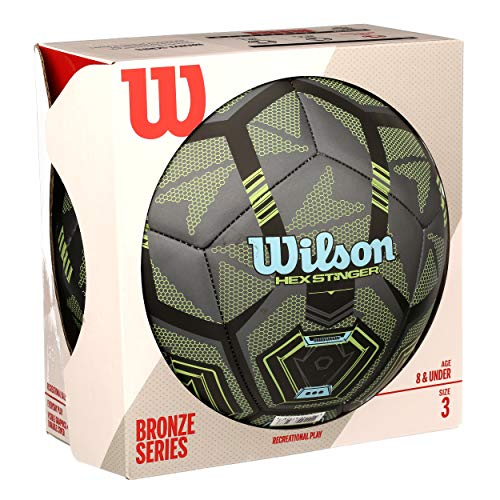 Wilson Hex Stinger Soccer Ball, Size 3