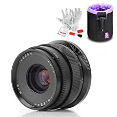 8 Elements in 6 Groups. Ideal Aperture with 10 Diaphragm Blades F1.8 - F16 Wide Aperture: Deliver A Beautiful Bokeh While The Subject Remains Sharp High Quality Optical Glasses, Aluminum Metal Body and Brass Bayonet Mount to Ensure Accuracy and Durab...
