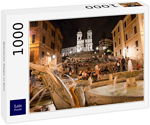 Lais Puzzle Escaleras españolas en Roma 1000 Piezas