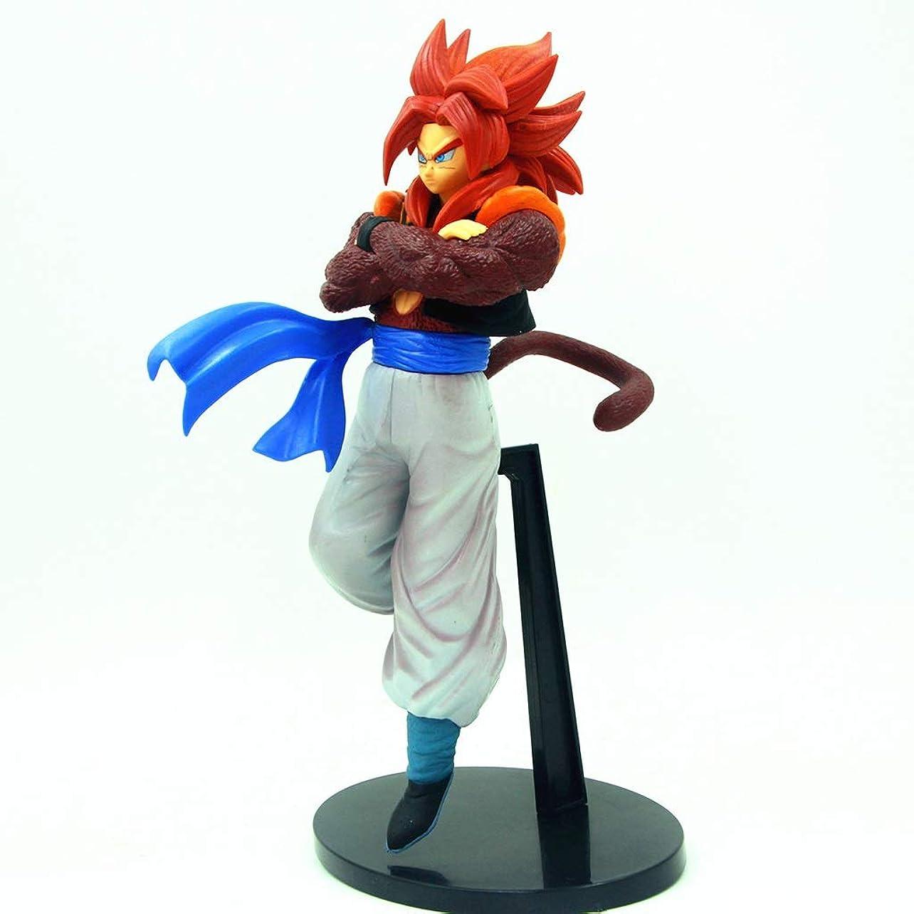 蛇行上に哲学的アニメドラゴンボール模型、PVC製子供玩具コレクションスタチュー、卓上装飾玩具スタチュー玩具モデル、4ステージウジタ(23cm) SHWSM