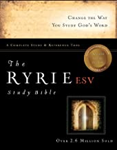 The Ryrie ESV Study Bible Hardcover Red Letter Indexed (Ryrie Study Bible ESV Version)