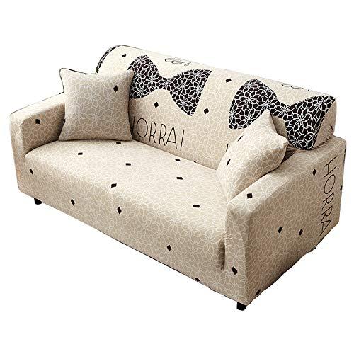 BHAHFL Funda de sofá de Tela elástica de Alta Elasticidad 1, 2, 3 plazas Funda para sofá Funda para sofá de Dos plazas Funda de poliéster Spandex Funda Protectora para Muebles,A,1Seater