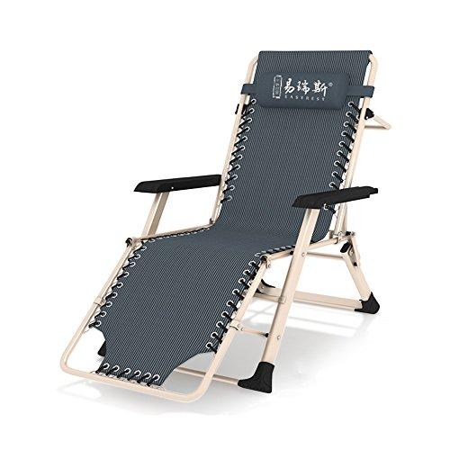 Fauteuils inclinables Feifei Chaise Pliante inclinables Chaise de Salon Chaise de Bureau Balcon Siesta Chaise Portable Multifonction Dossier Chaise paresseuse/chaises Longues pour Jardin extérieur p