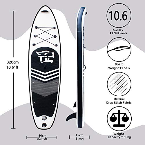 Tigerxbang SUP Board | 10'6″ / 320x80x15cm | - 2