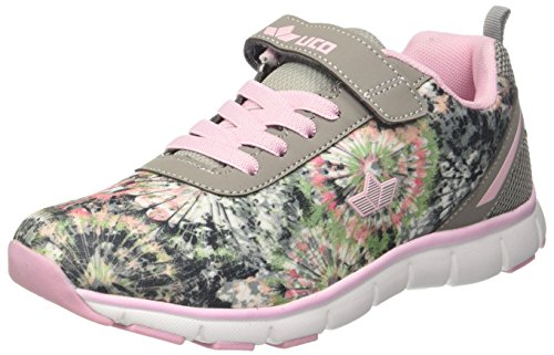 Lico Damen Sunflower VS Sneaker, Pink (Rosa/Grau), 36 EU