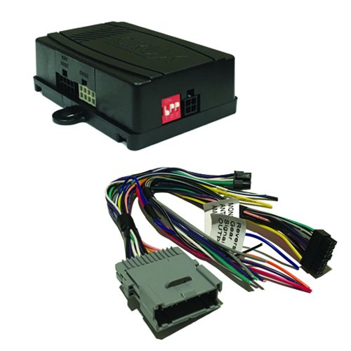 CRUX SWRGM-48 radio replacement interface retains Steering Wheel Control functionality and factory Chime features on select GM Class II vehicles with Bose Amplified & Non-Amplified Systems (2002-2013)