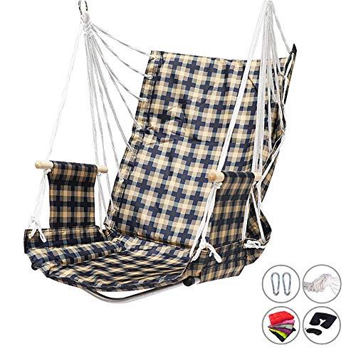 Balançoires YXX Chaise de Dossier d'hamac Haute 75 cm, capacité de 264lbs de Chaise pivotante à la Maison (Color : Style-2)