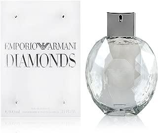 Giorgio Armani Emporio Armani Diamonds Eau de Parfum Spray for Women, 3.4 Fluid Ounce