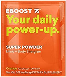 Eboost Vitamin & Antioxidant Energy Super Powder (20 Count) (Orange)