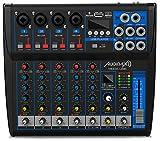 Audibax MG06-USB - Mesa de Mezclas con 6 Canales, con Conexión Bluetooth, Reproductor MP3 y Entrada...
