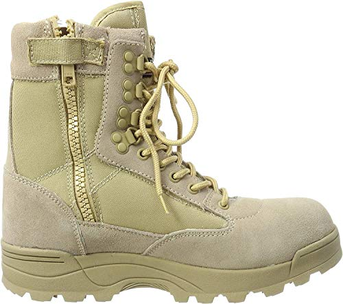 Brandit SWAT Tactical Boot Zipper Sandfarben - 47