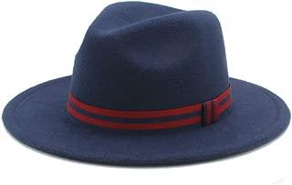 2019 Good Hat For Men Women Winter Fedora Hat Wide Brim Church Fascinator Hat Casual Wild Hat Panama Hat, Size 56-58CM