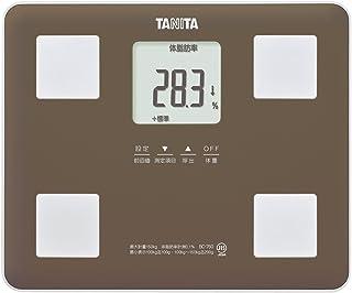 タニタ 体組成計 BC-760-BR(ブラウン) 乗るピタ機能で簡単測定/マイサポ機能で測定応援