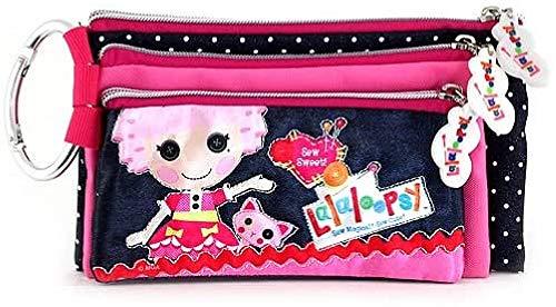Lalaloopsy 09579 - Estuche de lápices de 3 Cremalleras, diseño Say It!