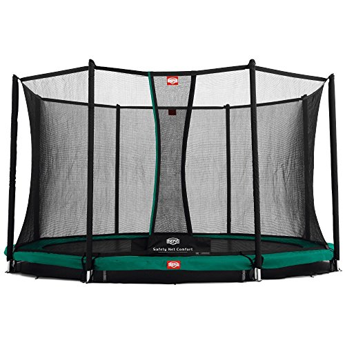 BERG 35.14.09.00 Trampolino inground Favorit con Rete di Sicurezza Comfort
