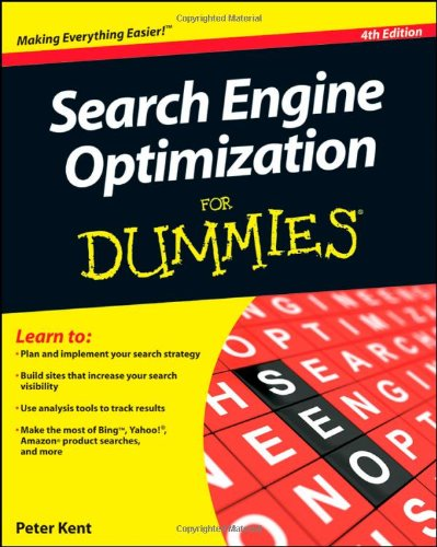 Search Engine Optimization For Dummiesの詳細を見る