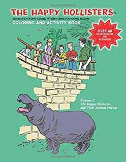The Happy Hollisters and their Animal Friends: Coloring & Activity Book: Volume 2