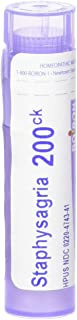 Boiron Staphysagria 200CK, 80 Pellets, Homeopathic Medicine for Surgical Wounds