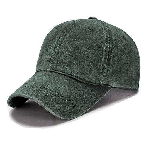 VGLOOK - Gorras de béisbol ajustables de algodón para hombre y mujer