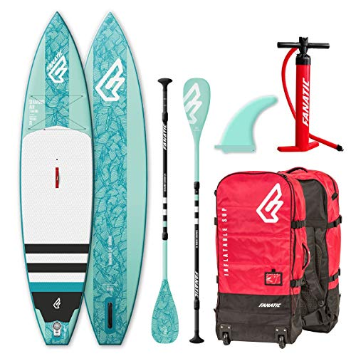 Fanatic Diamond Air Touring Inflatable 11.6 SUP isup Stand up Paddle Board Komplett Set