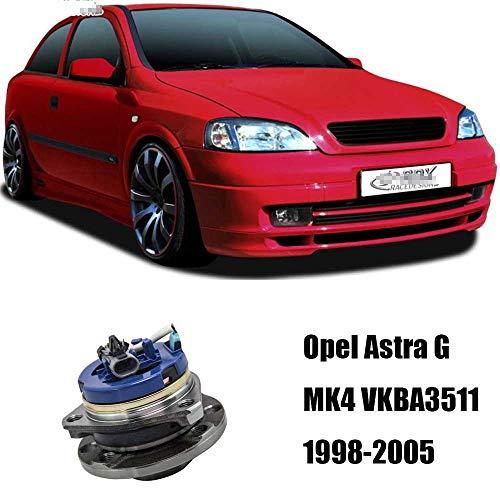 NHJUIJ Radlager vorne Hub + ABS-Sensor Fit für Opel Astra G MK4 VKBA3511 1 PCS,Metallisch