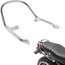 FATExpress Motorcycle Large Steel Chrome Rear Passenger Pillion Seat Hand Grab Bar Rail Handle for 2018 Kawasaki Z900RS 18