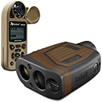 Bushnell Elite 1 Mile Laser Rangefinder 7x26 Binocular + Kestrel Wind Meters w/ Bluetooth via CONX