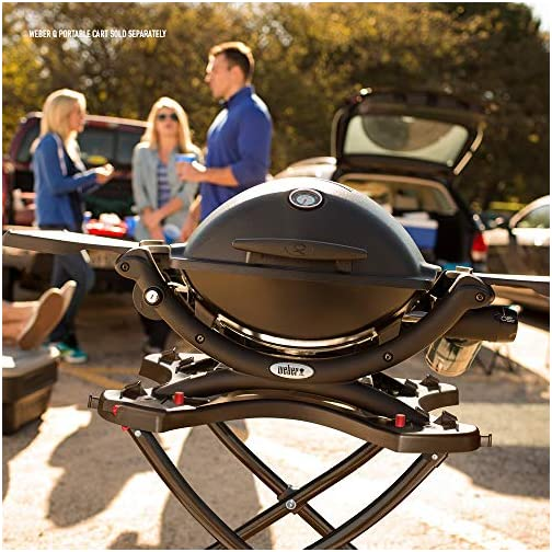 Weber 51010001 Q1200 Liquid Propane Grill, Black 5