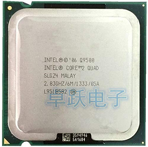 Core2 Quad Q9500 CPU/ 2.83G/ LGA775 /6MB Cache/Quad-CORE/FSB1333 /45nm/scrattered Piece
