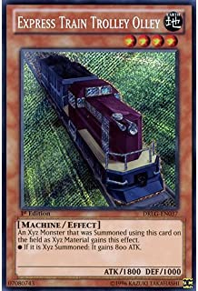 YuGiOh : DRLG-EN037 1st Ed Express Train Trolley Olley Secret Rare Card - ( Dragons of Legend Yu-Gi-Oh! Single Card ) by Deckboosters
