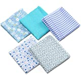 XINFULUK 1 Juego de Herramientas de Costura de Bricolaje, Accesorios de máquina de Coser de Metal de algodón y plástico, Conjunto de Herramientas de Patchwork para Uso doméstico - Azul