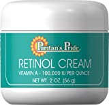 Puritan's Pride 2 Pack of Retinol Cream (Vitamin A 100,000 IU Per Ounce) Puritan's Pride Retinol Cream (Vitamin A 100,000 IU Per Ounce)-2 Cream