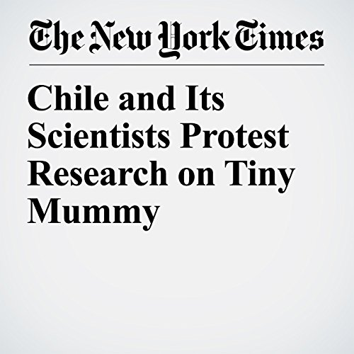Chile and Its Scientists Protest Research on Tiny Mummy copertina