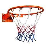 woyufen Aro de Baloncesto con Tablero de Baloncesto de Red Tablero de Baloncesto Anillo de Baloncesto de Baloncesto con Anillo y aro de Baloncesto de Red para Interiores y Exteriores