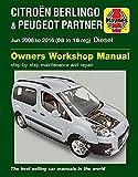 Citroën Berlingo & Peugeot Partner Diesel (June '08-'16) 08 To 16