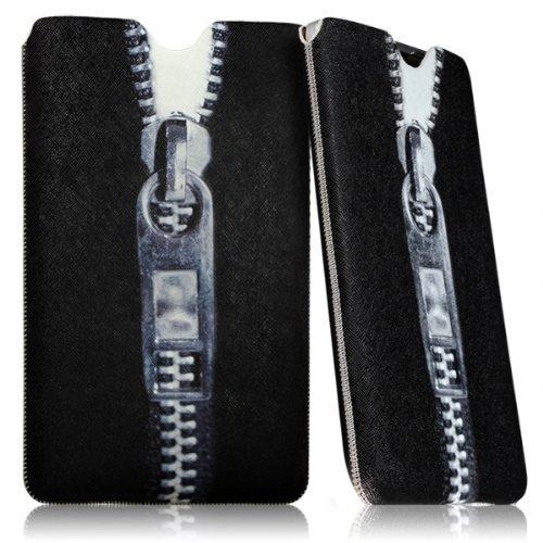 Seluxion LM01-Funda universal tamaño L, diseño de cremallera para tablet Alcatel OneTouch Pixi 3: 10, One Touch Pop 2 de 10