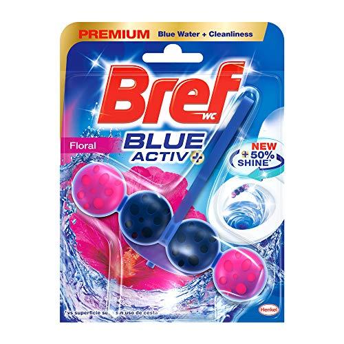 Bref Limpiador Baño Blue Active, Floral Ambientador WC