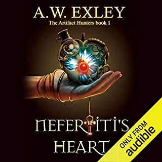 Nefertiti's Heart audiobook cover art