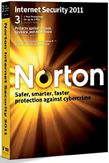 Norton Internet Security 2011, 3 Computers, 1 Year Subscription (PC) (B0040JGNGW) | Amazon price tracker / tracking, Amazon price history charts, Amazon price watches, Amazon price drop alerts