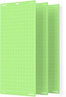 Xinart StandardGrip Cutting Mat for Cricut Maker/Explore Air 2/Air/One(12x24 Inch, 3 Mats) Standard Adhesive Sticky Green ...