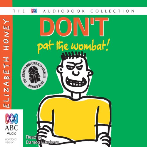 Don't Pat the Wombat audiobook cover art